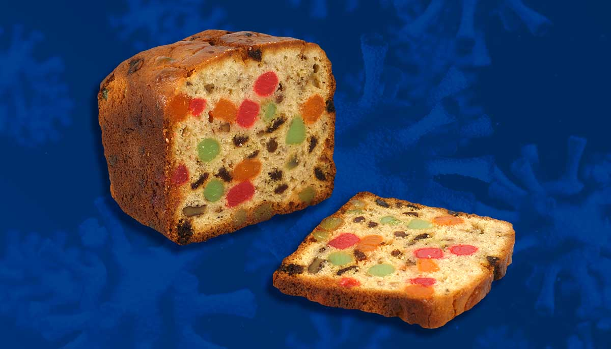 US Honors Essential Workers With Fruit Cake