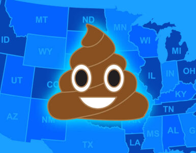 american states with poop